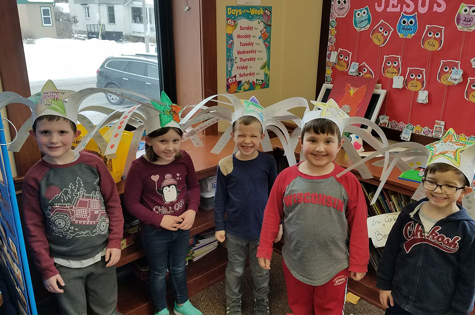 Crazy hats 100th day of the year
