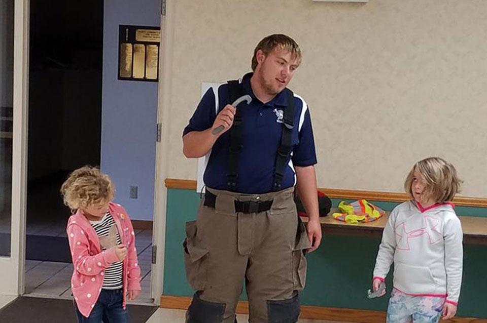 1st grade fire education