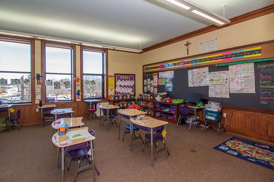 3rd & 4th Grade Classroom